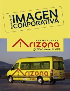 Portada Manual de Imagen Corporativa Arizona