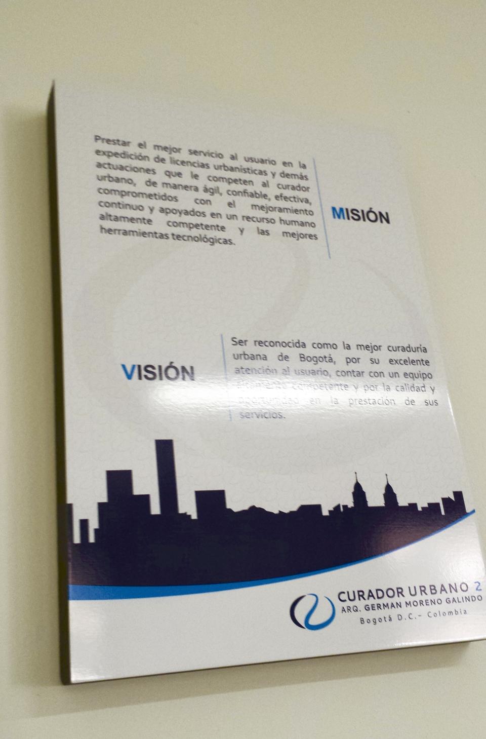 Retablo Misión y Visión