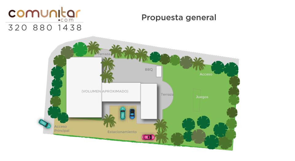 Propuesta general casa de recreo vereda la trinidad del municipio de la mesa cundinamarca