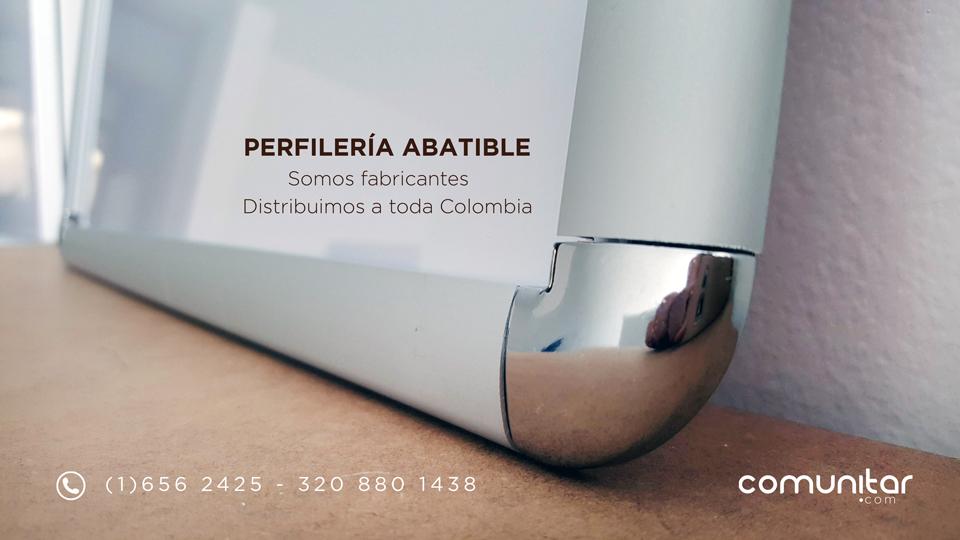 somos distribuidores de perfilería abatible en colombia