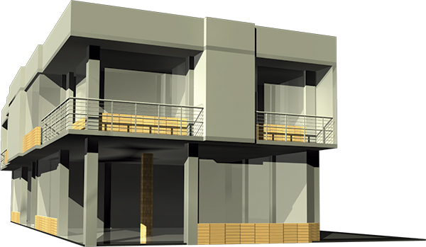 Modelo 3d del proyecto terminado