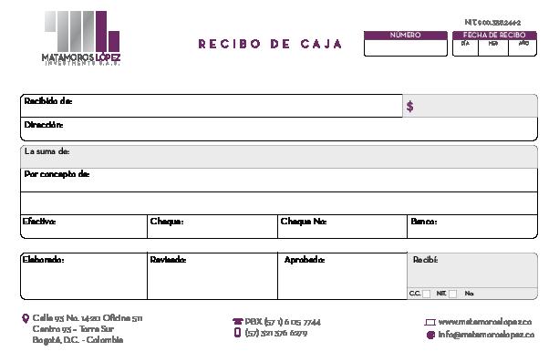 facturas y recibos para empresa en bogot u00c1  u2013 comunitar