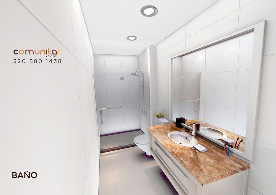 baño casa en condominio en el municipio de la mesa cundinamarca