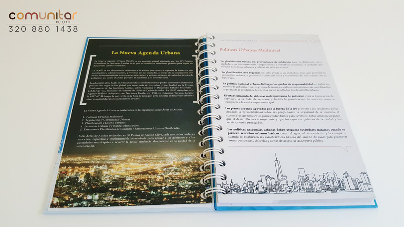 diseño e impresión de agendas en colombia con insertos