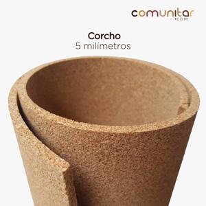 Lámina de corcho de 5mm de 120 de ancho por metros en colombia