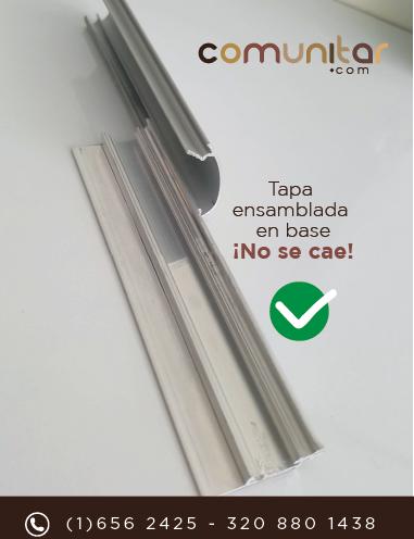 perfil abatible que no se cae, el mejor del mercado en colombia