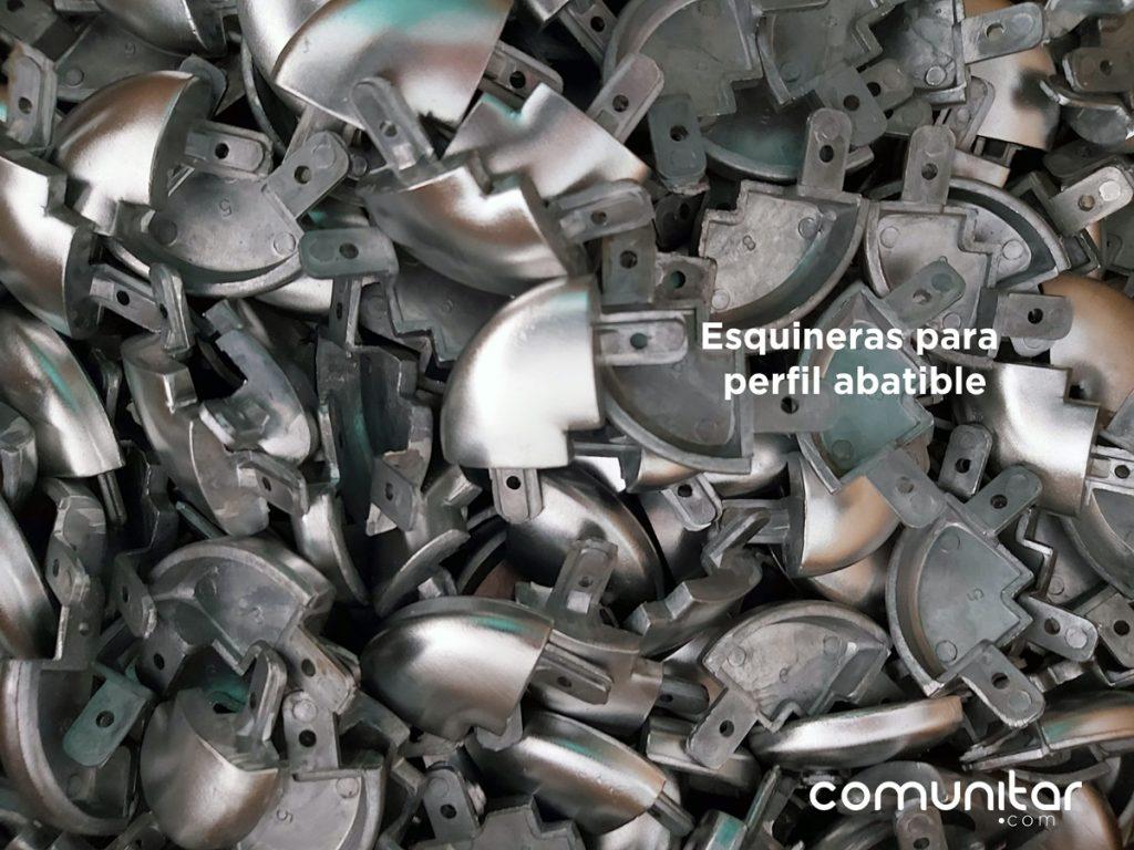 esquineras para perfil abatible de 25mm para toda colombia