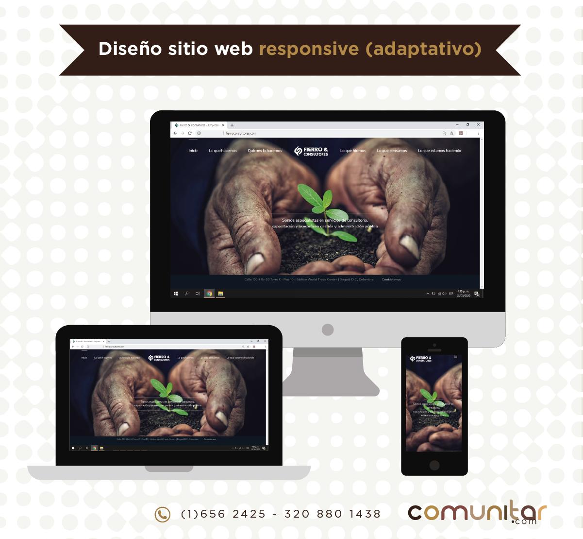 Sitio web adaptativo
